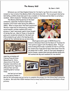 golden times newsletter