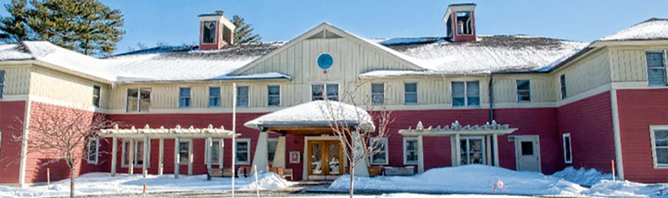 New England Homes for the Deaf winter scene