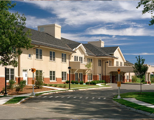 New England Homes for the Deaf circular drive