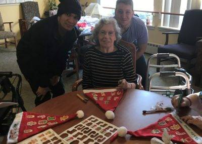 Holyoke Community College Christmas Craft Visit
