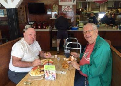 Woodmand's lunch August 29 2017